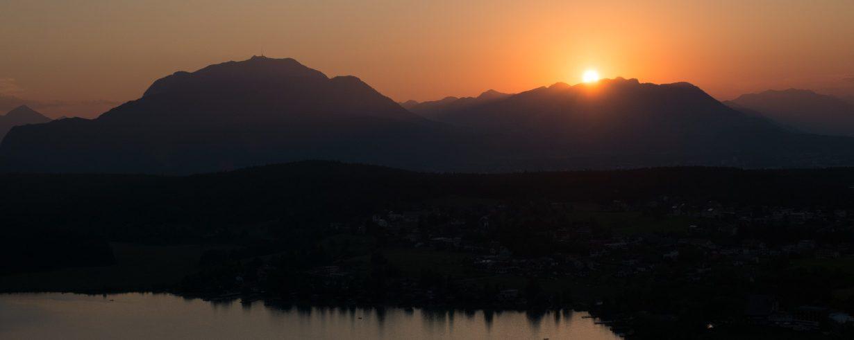 Sunset (photo by Chris Retz)